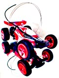 Super Buggy Self Righting Mini RC with LiPo Battery and Charger, 1/43 Scale (colors may vary)
