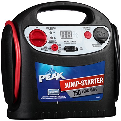 Peak PKC0J7 750 Amp Jumper Starter (Peak Jump Starter 750 compare prices)