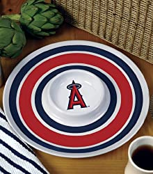 Los Angeles Angels Memory Company Team 14 Inch Melamine Serving Tray MLB Baseball Fan Shop Sports Team Merchandise