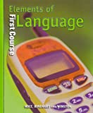 img - for Holt Elements of Language: Student Edition Grade 7 2001 book / textbook / text book