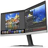 """Philips 19DP6QJNS 19"""" x (2) Dual LED IPS Monitors, 5:4 Aspect Ratio, Ultra Narrow Bezel, VGA,DP,HDMI w/MHL,USB"""