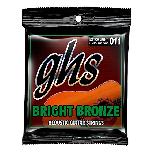 GHS BB20X Bright Bronze - 80/20 Bronze Extra Light Acoustic