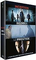 3 films réalisés par Christopher Nolan: Inception + Insomnia + Le Prestige
