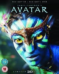 Avatar with Limited Edition Lenticular Artwork (Blu-ray 3D + Blu-ray + DVD)[Region Free]