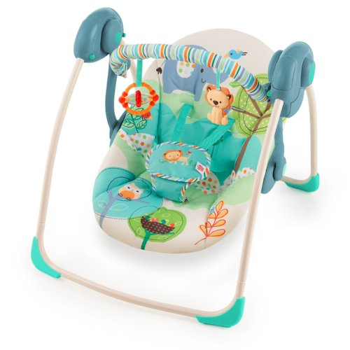 Bright Starts Playful Pals Portable Swing