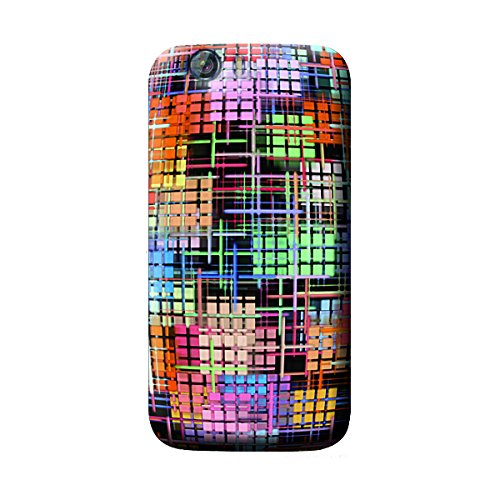 Garmor Abstract Design Plastic Backcover for Micromax Canvas Turbo A250- (Txt 5)