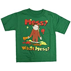 Curious George What Mess? Toddler T-Shirt