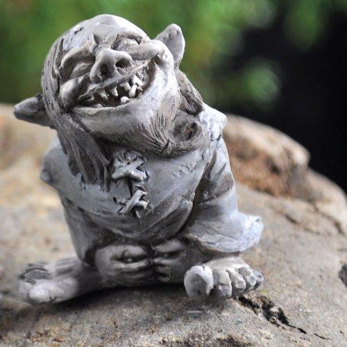 Fairy Garden Toader Troll