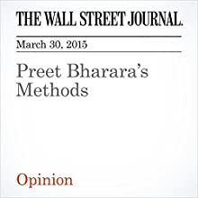Preet Bharara's Methods (       UNABRIDGED) by The Wall Street Journal Narrated by Ken Borgers