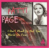 Page I don't want to set the world on fire