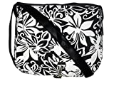 Crafts My Dream Women's Sling Bag ( Black And White,Cmd2907)