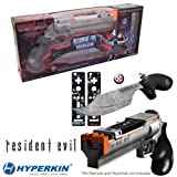 Nintendo Resident Evil Magnum Gun and Knife Set For Wii