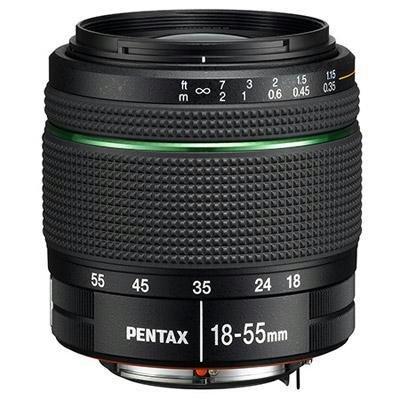 Pentax DA 18-55mm f/3.5-5.6 AL WR, 21880