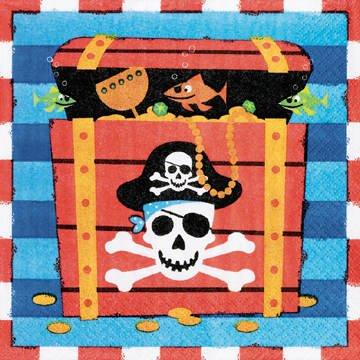 Amscan International Lun/ Nap Pirates Treasure