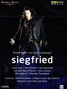 WAGNER: Der Ring des Nibelungen - Siegfried (live at the Teatro alla Scala, 2012) [DVD]