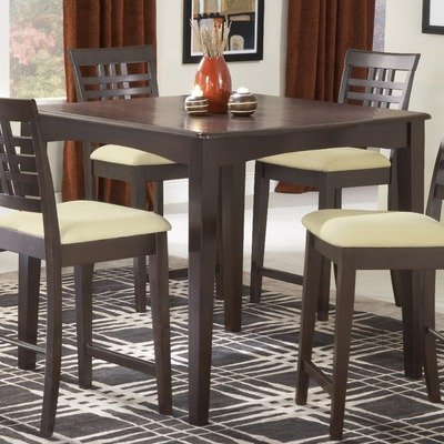 Counter Height Entry Table : Feature : Counter Height Dining Table Contemporary Style in Espresso ...