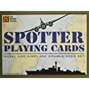 Spotter Playing Cards: Naval and Airplane Double Deck Set (History Channel)