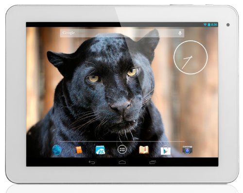 """Yarvik Noble Tablette tactile 9,7"""" (24,63 cm) Cortex A9 1.6 GHz 8 Go Android Jelly Bean 4.2.2 Wi-Fi Blanc"""