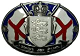 UNITED WE STAND - ENGLAND BELT BUCKLE + display stand