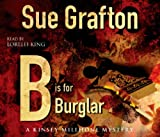 Sue Grafton B is for Burglar
