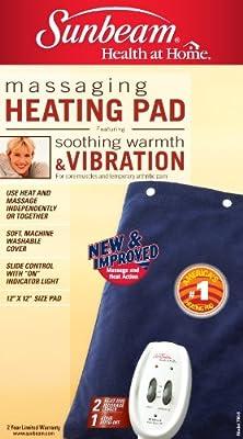 Sunbeam 730-811 Heating Pad plus Massage