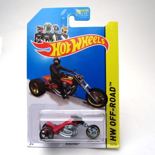 Blastous '14 Hot Wheels 128/250 (Red) Vehicle - 1