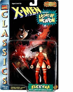 X-MEN CLASSICS- ELEKTRA WITH LIGHT-UP BLADE