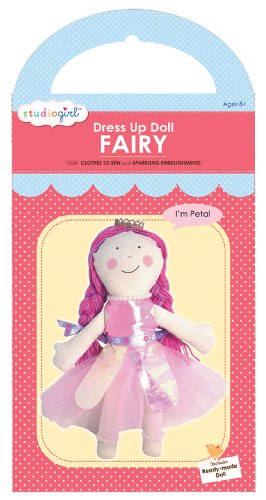 My Studio Girl Dress Up Doll Fairy Kit, Petal - 1