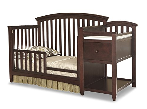 Imagio Baby Montville Toddler Guard Rail, Chocolate Mist
