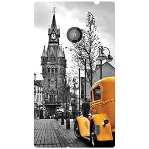 Nokia Lumia 520 Back Cover - Vintage Designer Cases