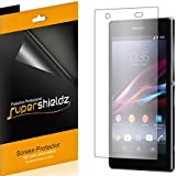 [6-Pack] SUPERSHIELDZ- High Definition Clear Screen Protector For Sony Xperia Z1S (T-Mobile) + Lifetime Replacements Warranty [6-PACK] - Retail Packaging