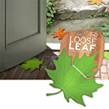 Fred and Friends LOOSE LEAF The Deciduous Doorstop