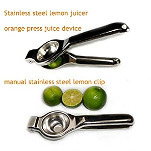 Stainless steel lemon juicer orange press juice device manual stainless steel lemon clip