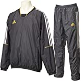 アディダス(adidas) M BC ウィンドブレーカーVネックジャケット/パンツ 上下セット AC6666 AC6669 BBP01/BBP002 BLK J/M