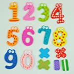SODIAL(R) Funny Colorful Magnetic Num...