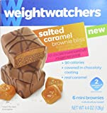Weight Watchers Brownie Bliss Mini Brownies Salted Caramel - 1 Box