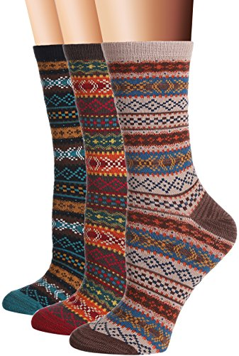 Vintage Style Crew Socks