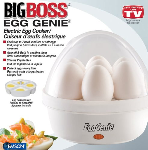 Cheapest Prices! Egg Genie Electric Egg Cooker