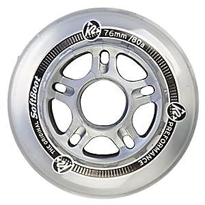 K2 Inline Skate Wheels with ABEC 5 Bearings - 8 Pack 2014 by K2