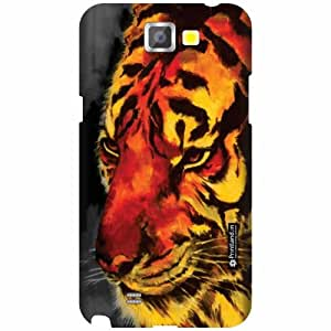 Printland Designer Back Cover for Samsung Galaxy Note 2 N7100 - Animal Print Case Cover