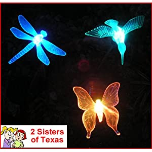 Click to buy 3 Piece Decorative Solar Light Set from Amazon!