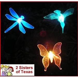 3 Piece Decorative Solar Light Set