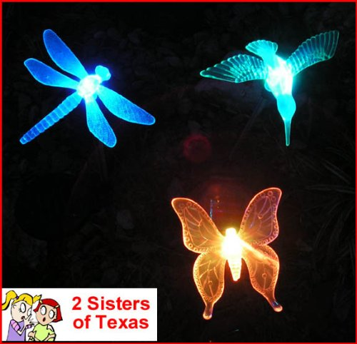 3 Piece Decorative Solar Light Set