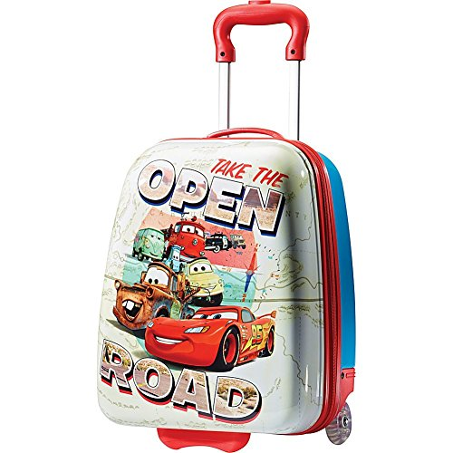 American-Tourister-74723-Disney-Cars-18-Inch-Upright-Hardside-Childrens-Luggage-Cars