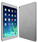 Skinomi® TechSkin - Apple iPad Air Wi-Fi + LTE (5th Generation) Screen Protector Ultra Clear Shield + Brushed Aluminum Full Body Protective Skin + Lifetime Warranty