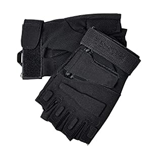 Tenflyer Airsoft Paintball Army Full Finger Airsoft Combat Tactical Gloves for Outdoor Sports Motorcycle Cycling Tactical Gloves by Tenflyer