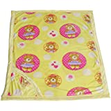 WARM UP - Premium Baby Blanket Cum AC Comforter Cum Wrapping Sheet - Double Layered With Hood - B01M1NB7OV