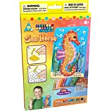Sticky Mosaics 63238 - SEA HORSE - Children's Craft Kit