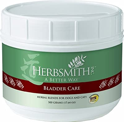 Herbsmith Bladder Care Herbal Supplement for Dogs and Cats, 500gm Powder by Herbsmith, Inc.