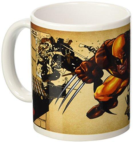 Wolverine Tazza Marrone Wolverine